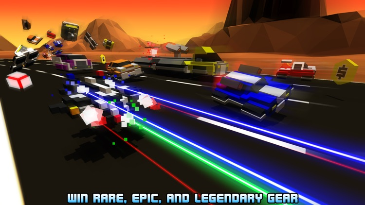 Hovercraft: Takedown - Custom Combat Cars screenshot-4