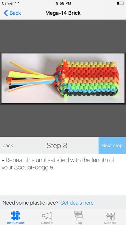 Scoubi-doggle: Boondoggle, Scoubidou, Gimp, Lace