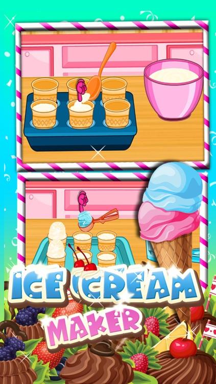 Ice Cream Cone Maker Game