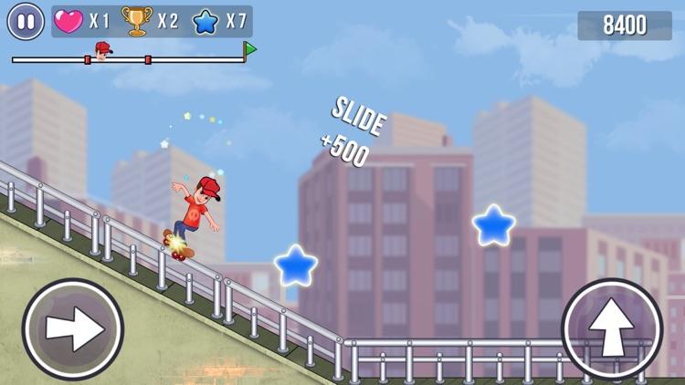 Skater Boy - Fun Skating Game screenshot-4
