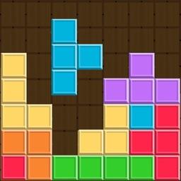 Block Brick Brain Teaser - Falling Bricks in Rush