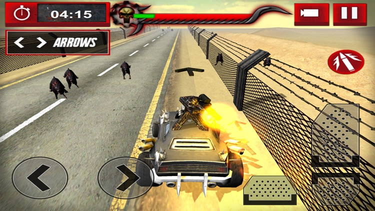 Zombie Smasher: Drive Shoot and Kill in Apocalypse screenshot-4