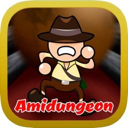 AmiDungeon -Gohst Leg game-