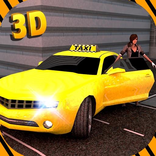 Такси автомобилей Simulator 3D - Drive Большинство Wild & Спорт Кабина в городе