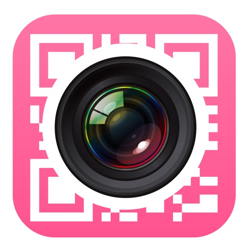 QRコードリーダー for iPhone iPad キラキラ