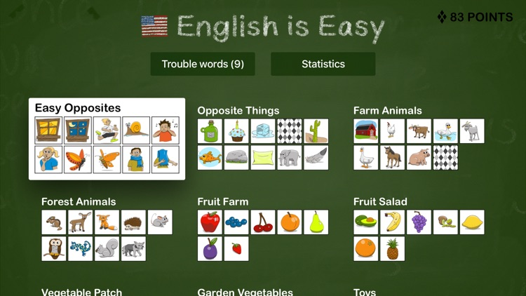 English is Easy – Learn vocabulary with pictures and sound