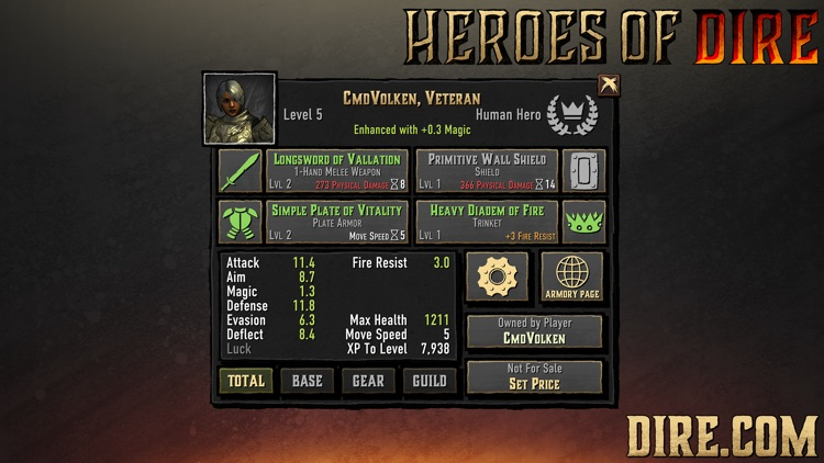 Heroes of Dire screenshot-1