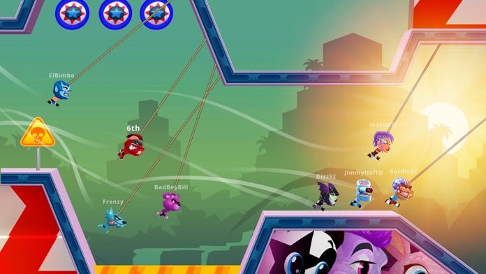 Rope Racers - Fun Multiplayer Racing Game Screenshot