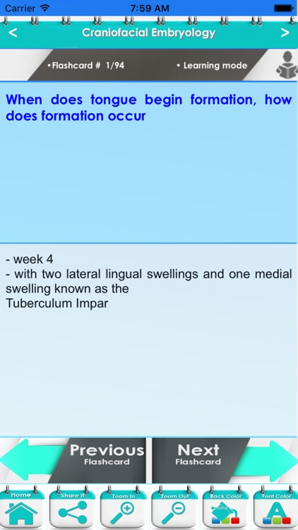 Head, Neck & Special Senses (HNSS) 2200 Flashcards screenshot-4