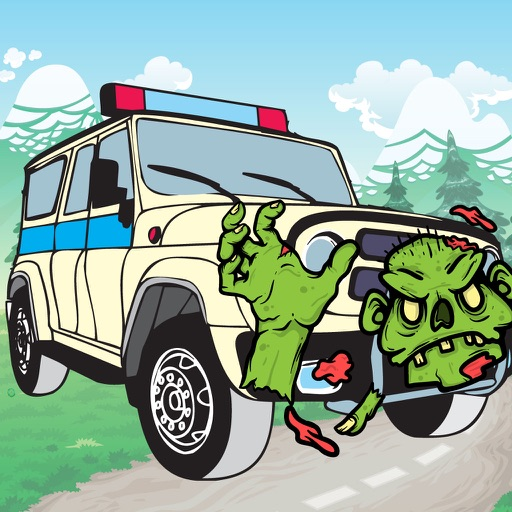 Kill All Zombies Car Game