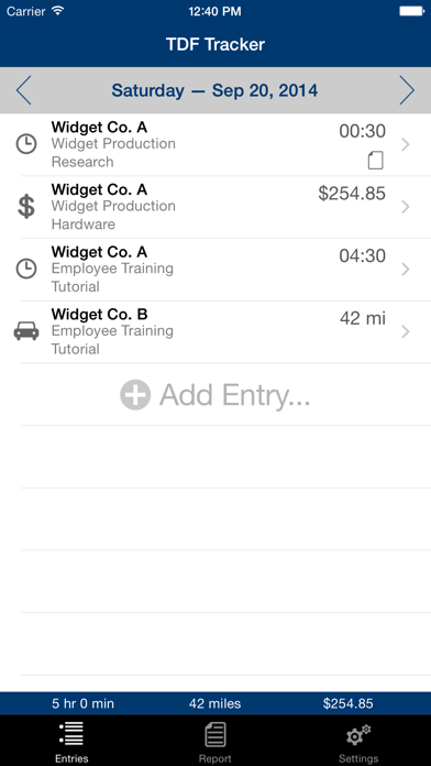 TDF Tracker screenshot one