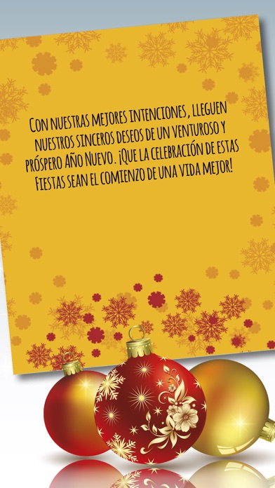screenshot 8 for xmas new year greeting messages in spanish