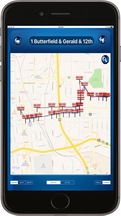 Winston-Salem NC USA where is the Bus