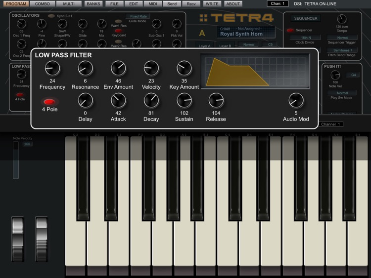Tetra Sound Editor screenshot-1