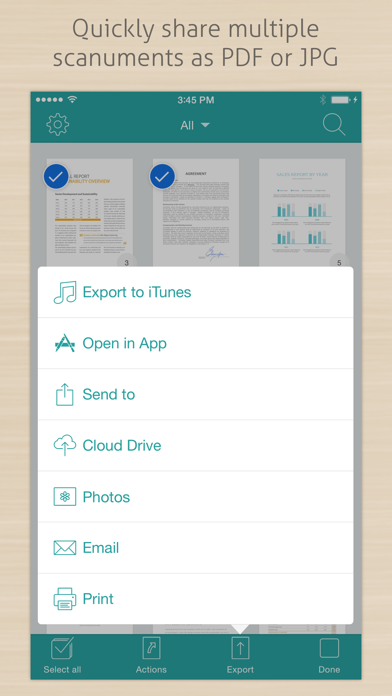 Scanument - Document Scanner - Scan documents to PDF Screenshot