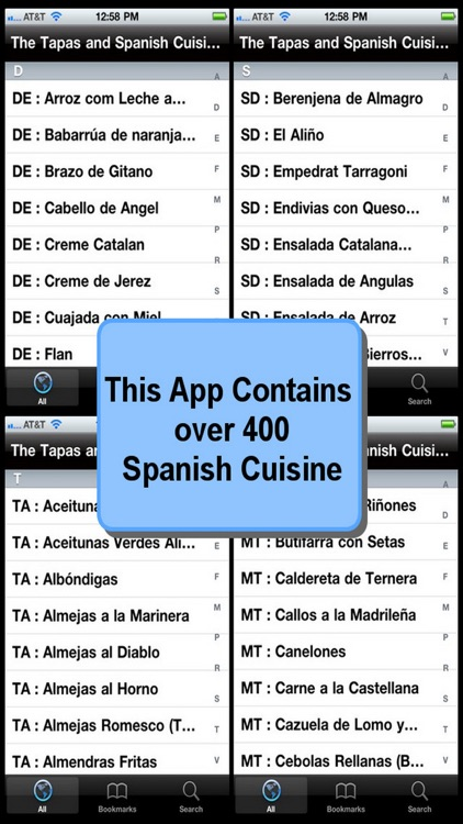 The Tapas and Spanish Cuisine Bible screenshot-3