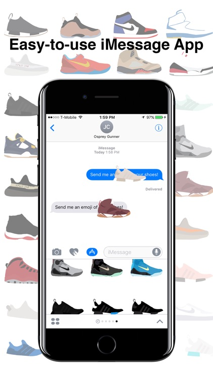 ShoeMoji - Sneaker Emojis screenshot-1