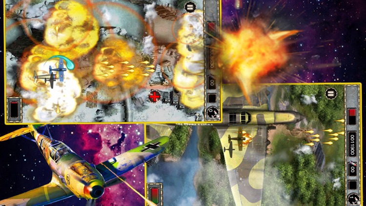 Classic Raiden fighter-Free airplane shooting game by li feng