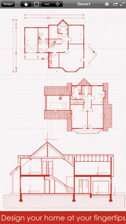 Home Design Pro : Interior Design & Floor Plan CAD screenshot-4