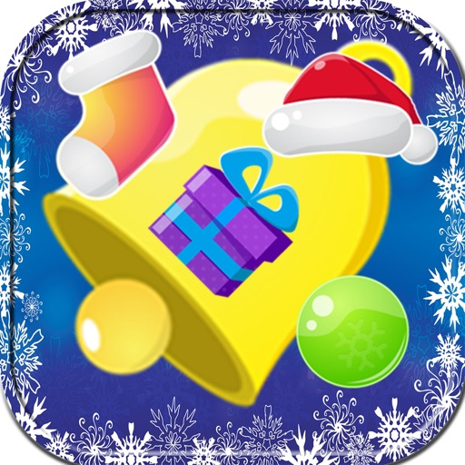 Ice princess Christmas candy on frozen - free fall iOS App