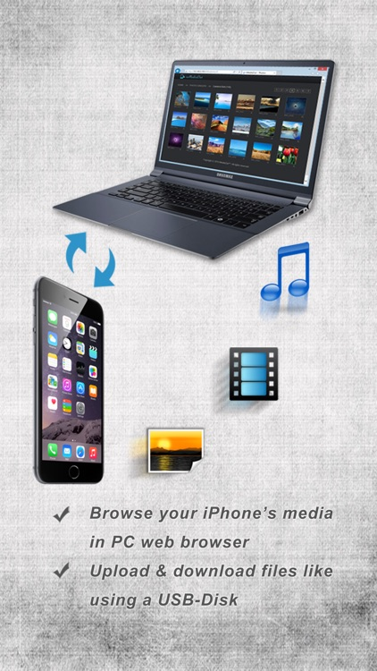 iMediaOut - Easy media & file transfer