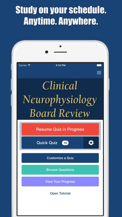 Clinical Neurophysiology Q&A: Board Review
