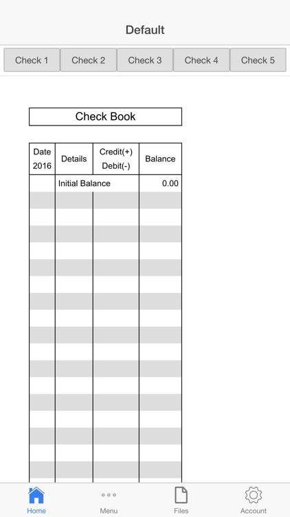 Checks Register Pro