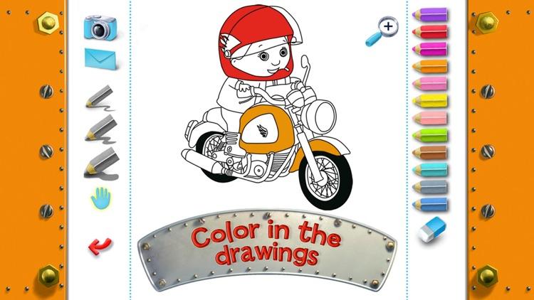 Mike's motorbike - Little Boy screenshot-4