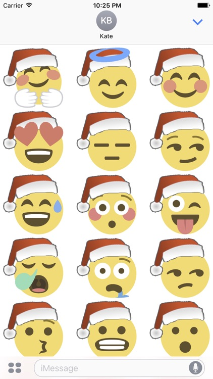 Santa Emoji screenshot-4