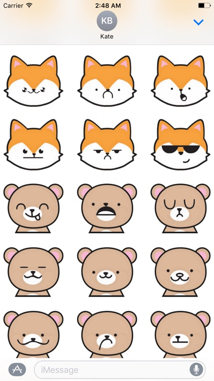 Cute Pets Stickers and Emoji - Cat and Kitten