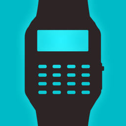 Ícone do app Geek Watch - Retro Calculator Watch