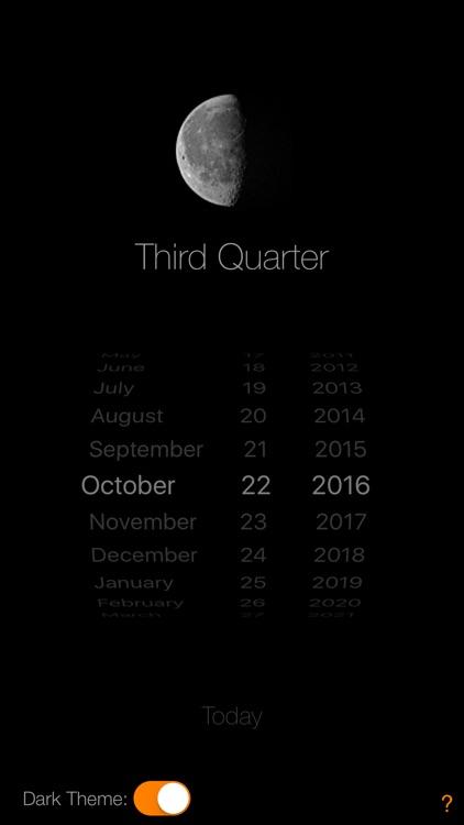 Lunar Phase Calendar screenshot-3