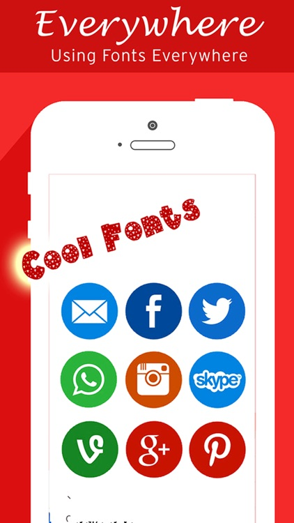 Free Fonts Keyboard, Art Fonts, Cool Font for Chat WhatsApp, Viber and Snapchat. screenshot-3