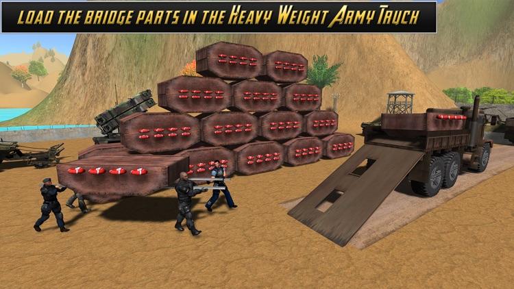 American Army Bridge Builder screenshot-4