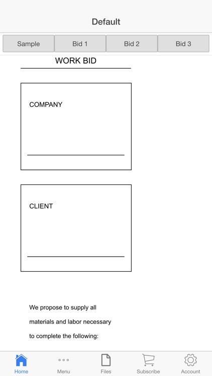 Work Quote screenshot-3