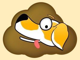 Dookie Dog Stickers are stickers based on the fun and goofy iOS game Dookie Dog