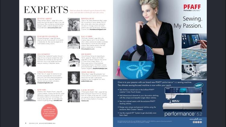 Sew News Magazine screenshot-3