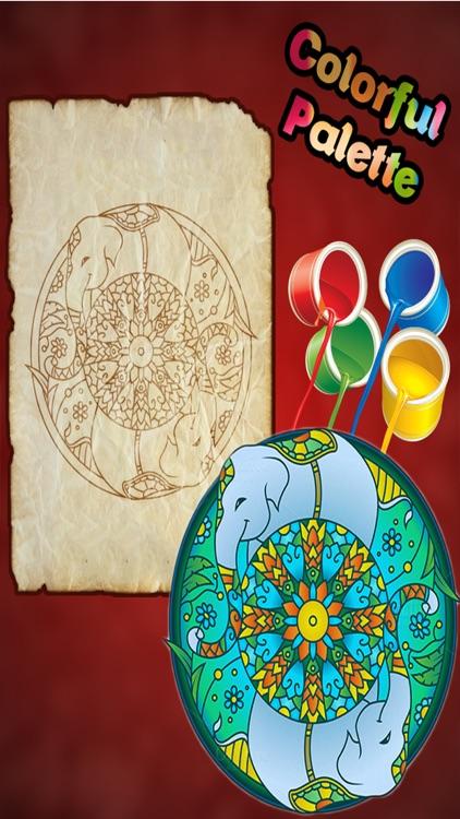 Animal Mandala Coloring Pages Adult Color Book By Madhuri Barochiya