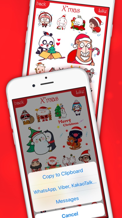 ChristMoji - Christmas Gifs Stickers for iMessage screenshot-4