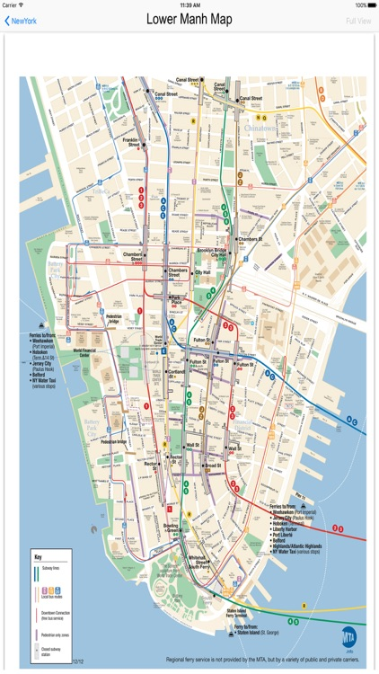 new york city subway maps screenshot-3