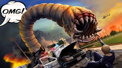 Screenshot from Death Worm