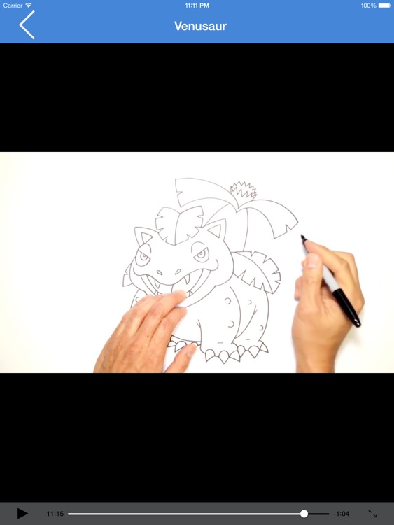 How to Draw Cartoons Step by Step Video for iPad screenshot-4