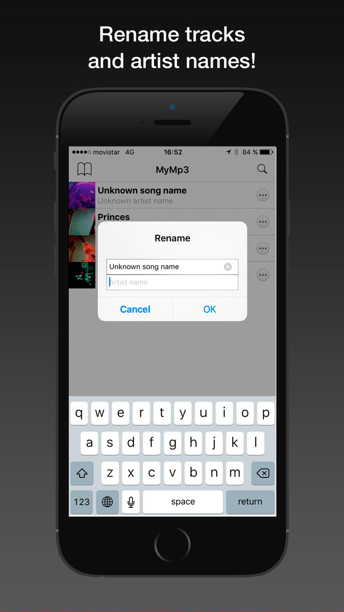 MyMP3 - Convert videos to mp3 and best music player Screenshot