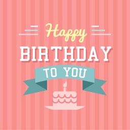 Sticker Birthday e-Cards for iMessage