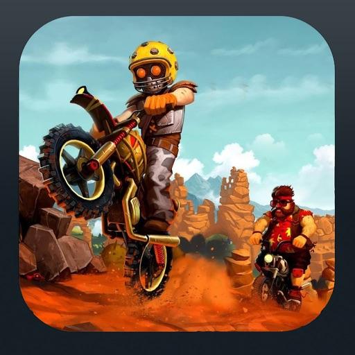 Trial Dirt MotorBike Racing