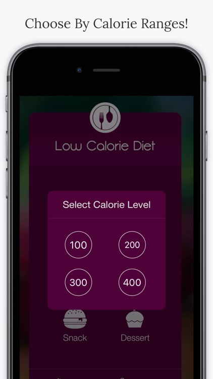 Low Calorie Diet. screenshot-2