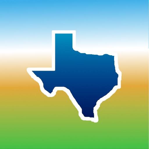 Aqua Map Texas TX Lakes - GPS Nautical Charts
