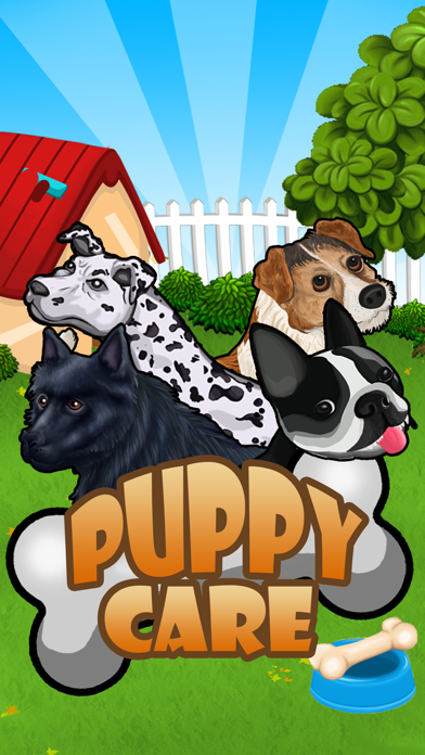 Puppy Care - puppies feed, breed, battle pet games screenshot one