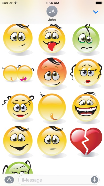 Emotion Cute Sticker Pack 01