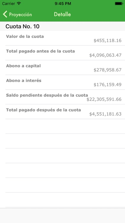 Mi Calculadora de Préstamo screenshot-4